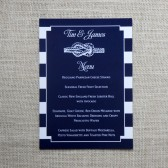 Nautical Menus