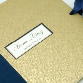 Custom Scrapbook Album in Gold