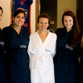Navy Bridesmaids Robes