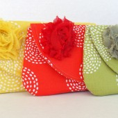 Citrus Bridesmaid Clutch