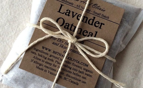 oatmeal bath tea