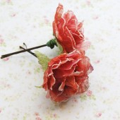 Autumn Rose Hair Clip