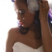 Silk Organza Hair Flower