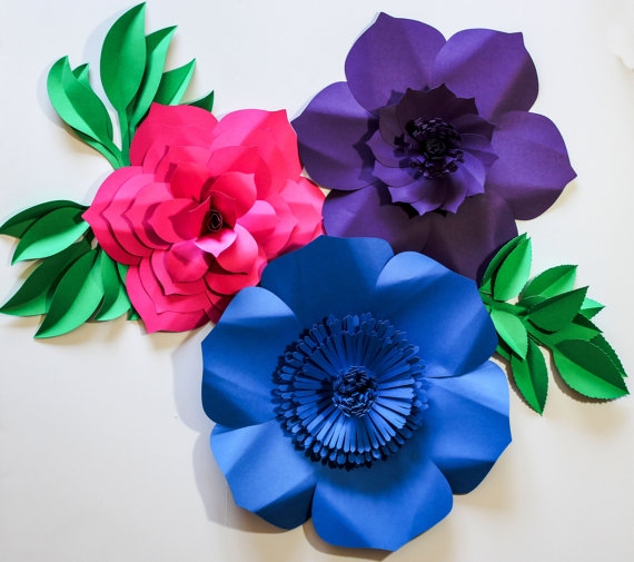 Paper flowers paper flower backdrop mightylinksfo