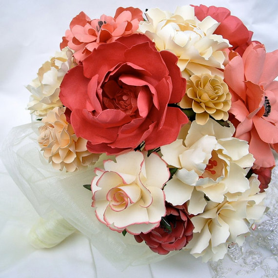 paper flower bouquet 2