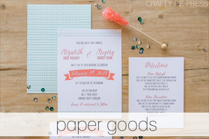 paper goods - Handmade Wedding Shop | Emmaline Bride® - The Marketplace