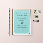 Parisian Chic Wedding Invitations