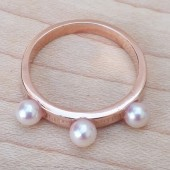 pearl ring,silver ring,bridesmaids ring,bridesmaids jewelry,pearl,jewelry,rustic,rose gold,