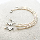 Pearl Bridesmaid Bracelet