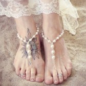 pearls-hemp-barefoot-sandals, beach-wedding-shoes, ivory, cream, wedding-sandals, bridesmaids, brides shoes