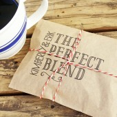 The Perfect Blend Coffee Favor Bag