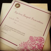 Bouquet Preservation Art Gift Certificate