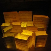 Sheet Music Luminary Bags by OldenDesigns