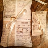 Ring Pillows, Book Wedding, Book Theme