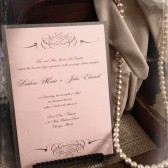 Elegant Pink Invitation