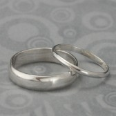 The Perfect Pair Wedding Band Set