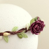 Rose Garden Floral Crown
