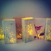 Poetry & Nature Luminary Bags