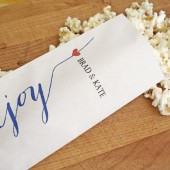 Enjoy - Popcorn Favor Bag