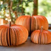 Book Pumpkins-Fall Wedding-Book Themed Wedding