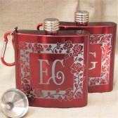 His and Her Flasks