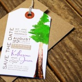 Redwood Magnet Luggage Tag