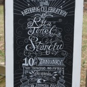 Wedding Chalkboard
