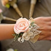Romantic Wedding Corsage - Mother of the Bride, Natural Wedding, Shabby Chic Rustic Wedding
