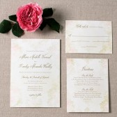 Romantic Vintage Wedding Invitation