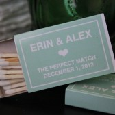 Wedding Matchboxes