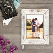 Guestbook - Rustic Wood Frame 1 Guest Book (gb0045)