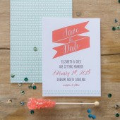 Rustic Tribal Save the Date