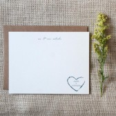 Rustic Personalized Stationery