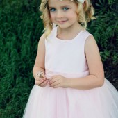 EvaJune White, Ivory Flower girl headband