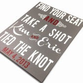 Reception Take your seat Sign Vintage wedding sign, shabby shic