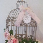 Shabby Chic Wedding Card Holder