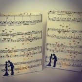 Sheet Music Luminaries, Luminary Bags, Music Wedding, Wedding Lanterns