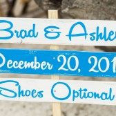 Shoes Optional Beach Directional Sign