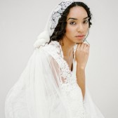 Style 611 - Lace Mantilla Veil by SIBO Designs