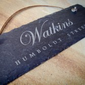 Custom Engraved Slate Sign