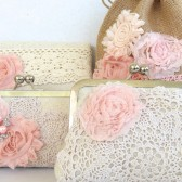 Blush Bridal Clutch Collection