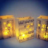 Snowflake Wedding Luminaries