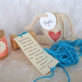 Wooden Spool Bridesmaid Proposal