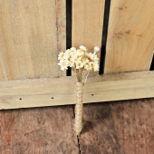 star flowers boutonniere