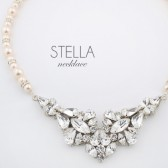 Stella statement wedding necklace