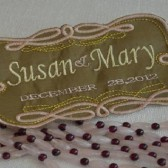 Gay and Lesbian Wedding label