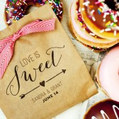 Sweet Love Donut Favor Bag