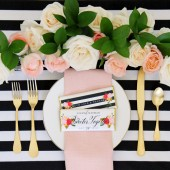 Roses and Stripes Wrapper