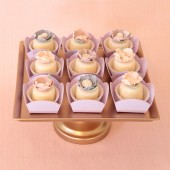 Lavender Mini Dessert and Candy Cups