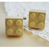 Khaki Wedding Cufflinks